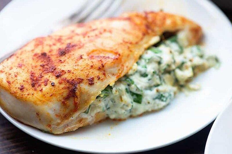 طريقة عمل صدور دجاج محشية بالجبن في الفرن مثل المطاعم