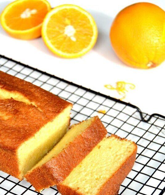 طريقة عمل الكيكة الهشة بالبرتقال